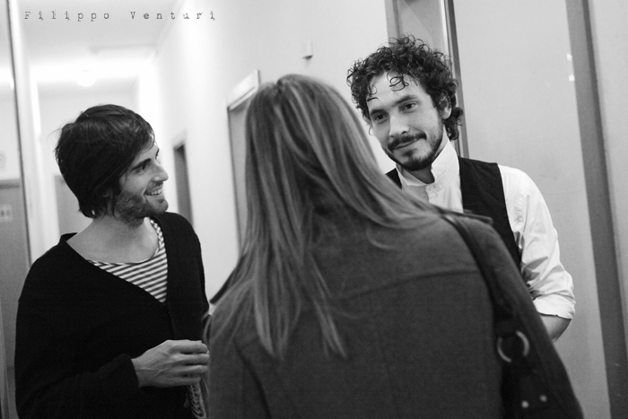 Gli Scontati al Teatro Petrella di Longiano (Giacomo Toni e Lorenzo Kruger), Tour 2011, foto 23