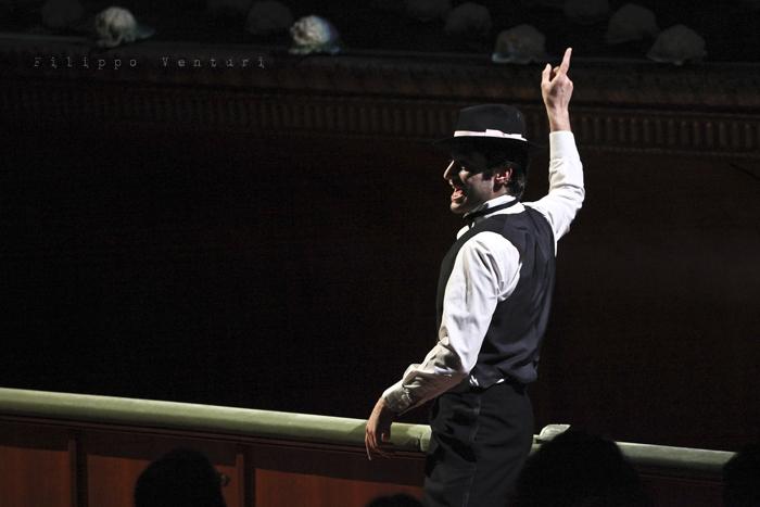 La Resistibile Ascesa di Arturo Ui, di Bertolt Brecht, con Umberto Orsini, foto 2