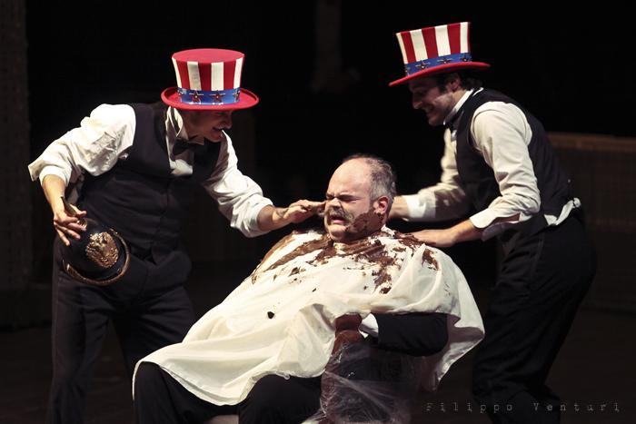 La Resistibile Ascesa di Arturo Ui, di Bertolt Brecht, con Umberto Orsini, foto 4