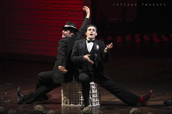 La Resistibile Ascesa di Arturo Ui, di Bertolt Brecht, con Umberto Orsini, foto 5
