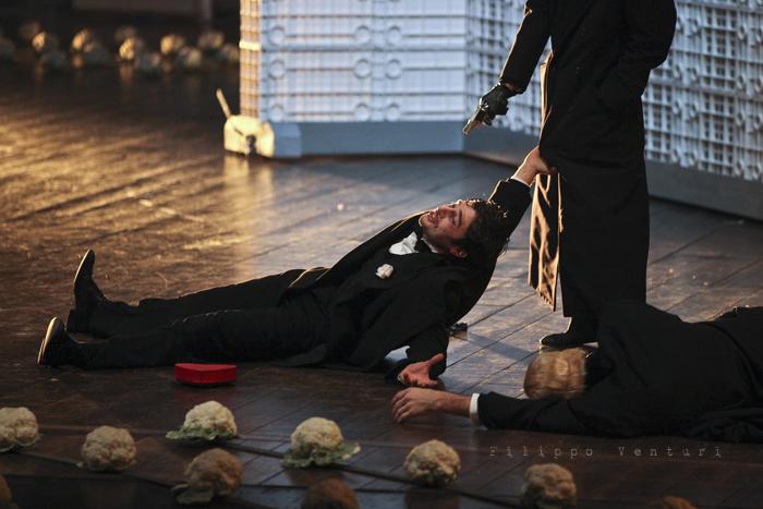 La Resistibile Ascesa di Arturo Ui, di Bertolt Brecht, con Umberto Orsini, foto 17