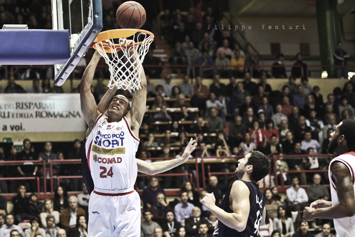 Basket: Marco Polo Forli - Conad Bologna (foto 8)
