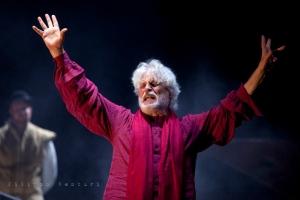 Re Lear, con Michele Placido