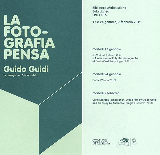 Guido Guidi, la fotografia pensa