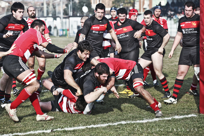 Romagna Rugby VS Rugby Milano - foto 2