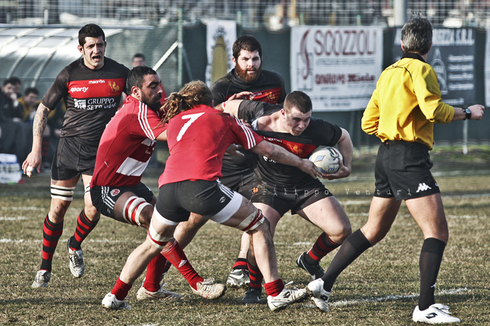 Romagna Rugby VS Rugby Milano - foto 13