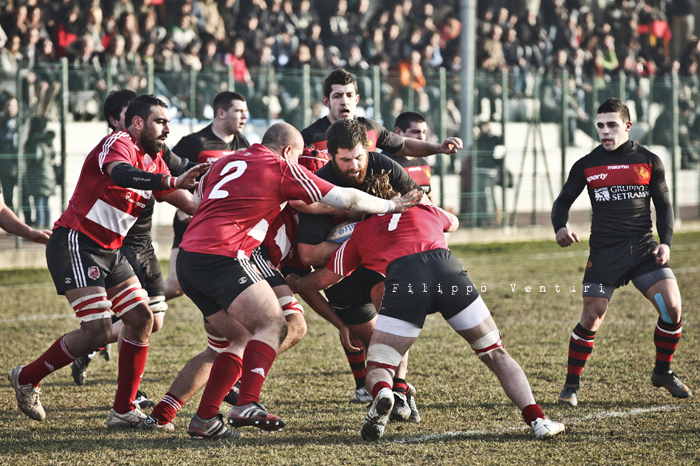 Romagna Rugby VS Rugby Milano - foto 24