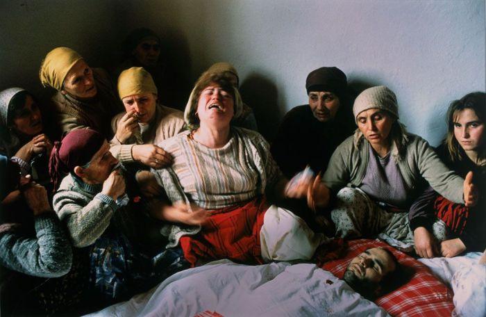 Georges Merillon, Pietà del Kosovo (1990)