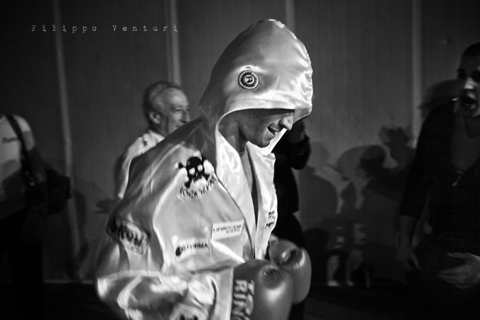Boxe: Matteo Signani vs Simone Rotolo (foto 1)
