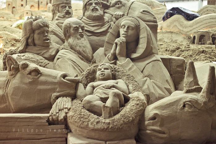 Presepio di sabbia di Rimini (2011), foto 1