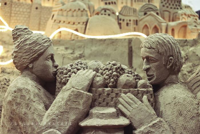 Presepio di sabbia di Rimini (2011), foto 4