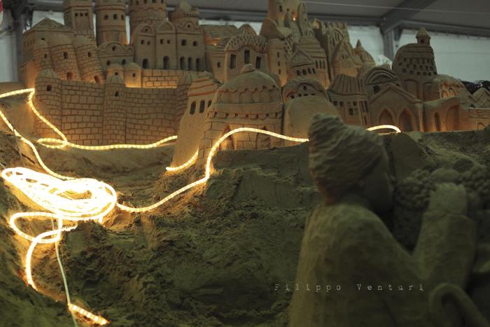 Presepio di sabbia di Rimini (2011), foto 5