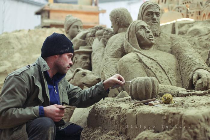 Presepio di sabbia di Rimini (2011), foto 6