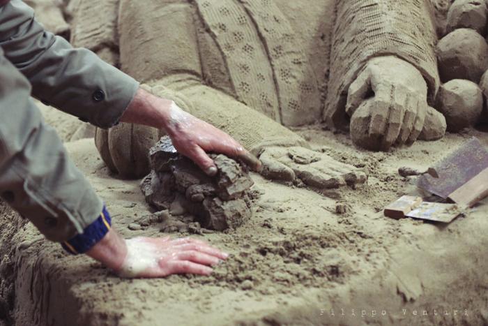 Presepio di sabbia di Rimini (2011), foto 7