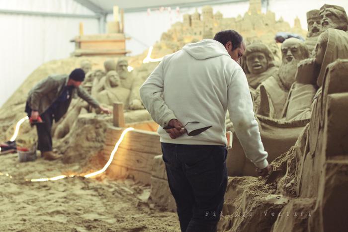 Presepio di sabbia di Rimini (2011), foto 8