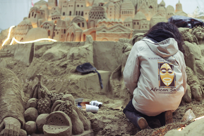 Presepio di sabbia di Rimini (2011), foto 9