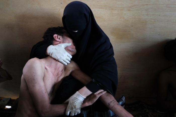 Samuel Aranda, La Pietà Yemenita, Foto vincitrice del World Press Photo 2012