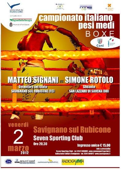 Matteo Signani vs Simone Rotolo