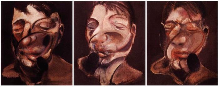 Francis Bacon (Three studies for self portrait, 1974)