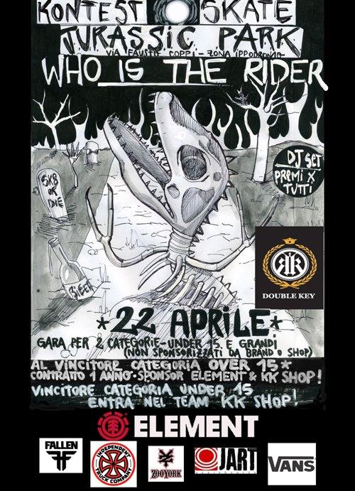 Jurassic Skatepark: Who is the rider?