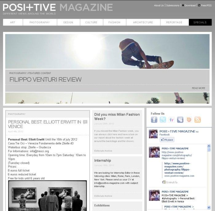 Pos+itive Magazine