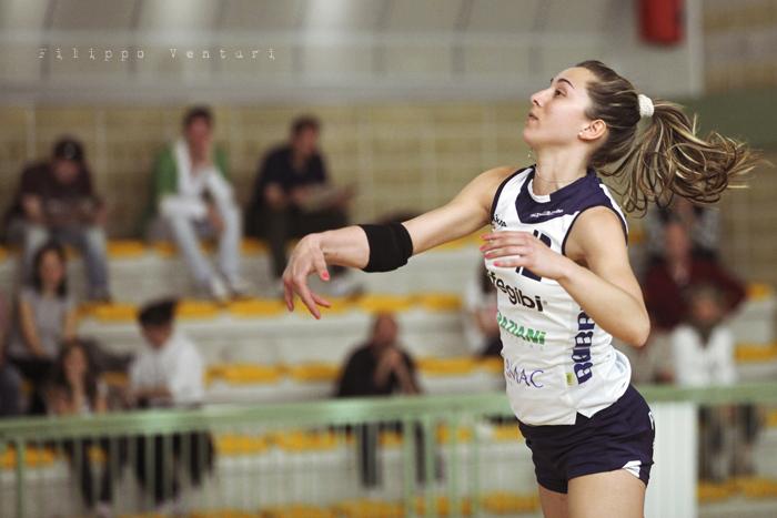 Volley Club Cesena - Edil Ceccacci Moie (foto 2)