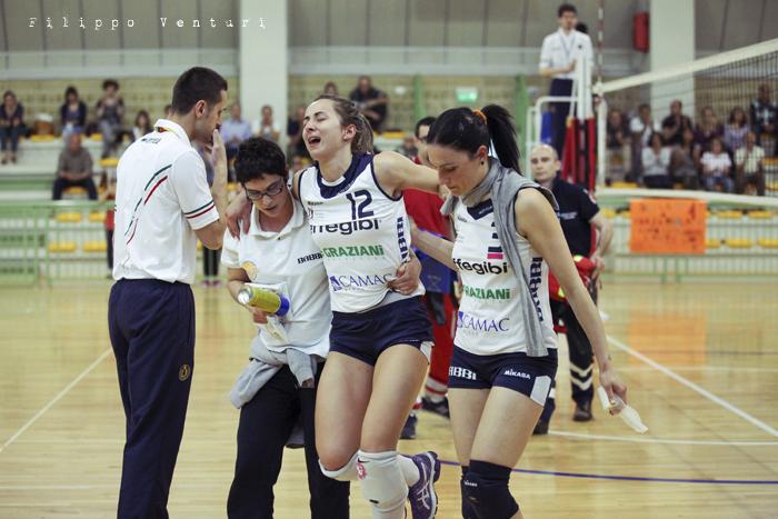 Volley Club Cesena - Edil Ceccacci Moie (foto 9)