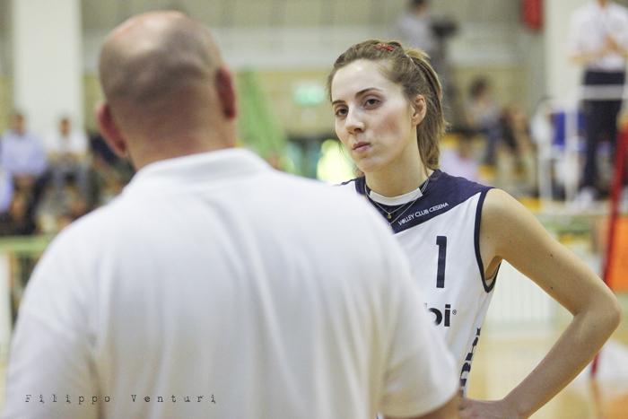 Volley Club Cesena - Edil Ceccacci Moie (foto 12)