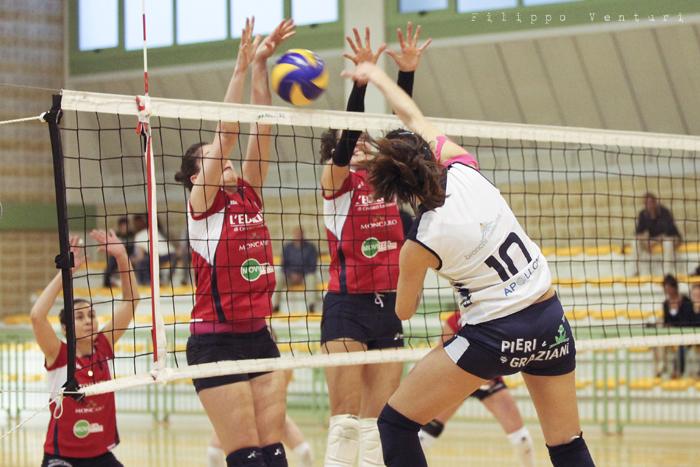 Volley Club Cesena - Edil Ceccacci Moie (foto 15)