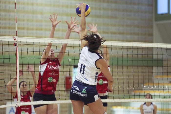 Volley Club Cesena - Edil Ceccacci Moie (foto 20)
