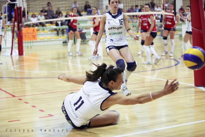 Volley Club Cesena - Edil Ceccacci Moie (foto 22)