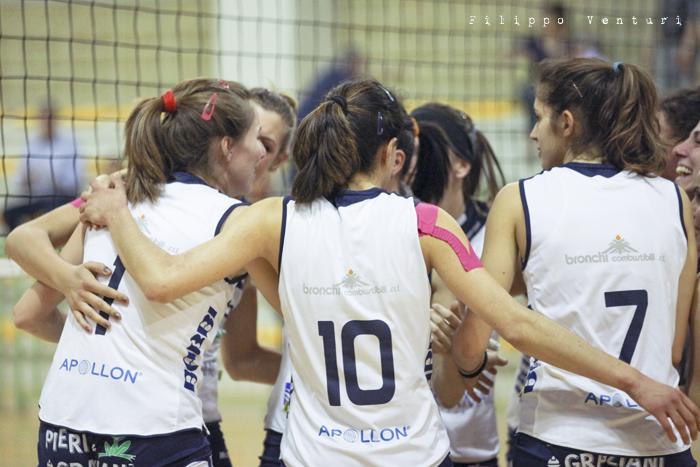 Volley Club Cesena - Edil Ceccacci Moie (foto 35)
