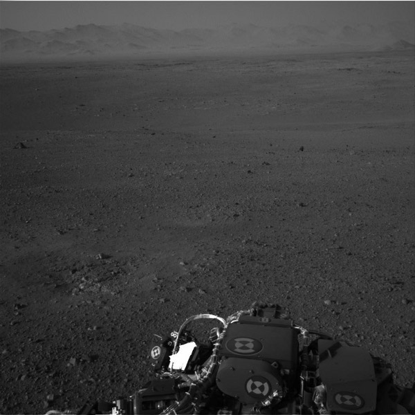 Photography by Curiosity on Mars