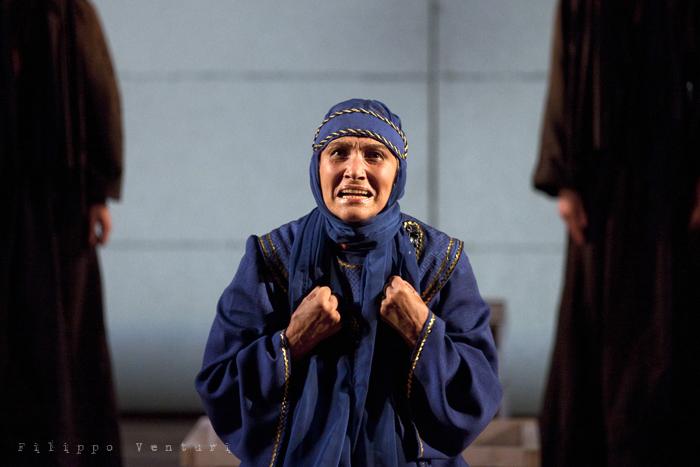 Le Troiane, con Ivana Monti ed Edoardo Siravo, foto 9