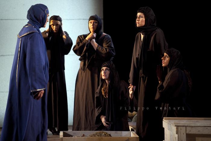 Le Troiane, con Ivana Monti ed Edoardo Siravo, foto 10