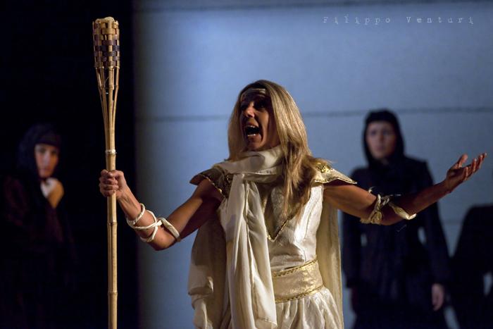 Le Troiane, con Ivana Monti ed Edoardo Siravo, foto 12
