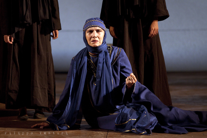 Le Troiane, con Ivana Monti ed Edoardo Siravo, foto 14