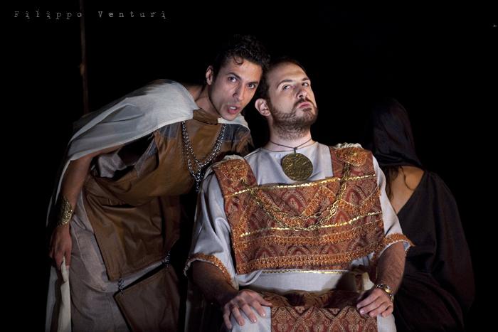 Le Troiane, con Ivana Monti ed Edoardo Siravo, foto 17