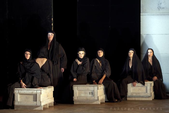 Le Troiane, con Ivana Monti ed Edoardo Siravo, foto 20