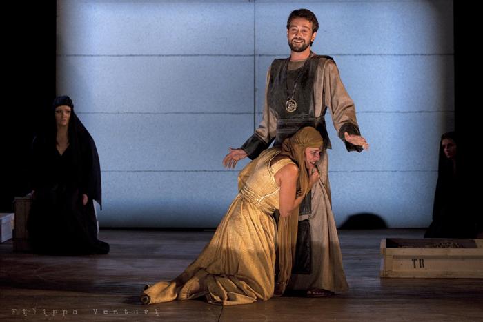 Le Troiane, con Ivana Monti ed Edoardo Siravo, foto 26