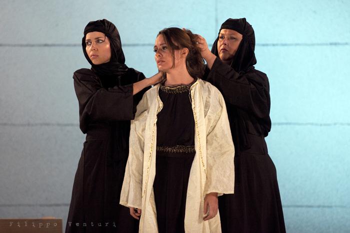 Le Troiane, con Ivana Monti ed Edoardo Siravo, foto 34