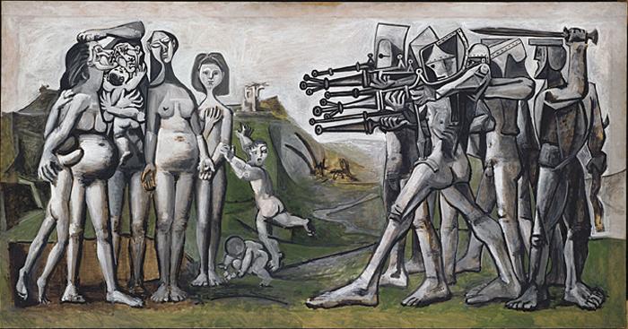 Mostra di Picasso a Milano