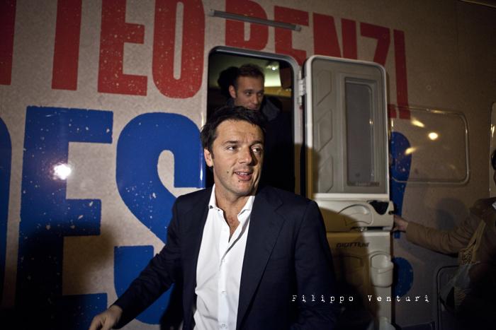 Matteo Renzi a Ravenna (Primarie PD), foto 7
