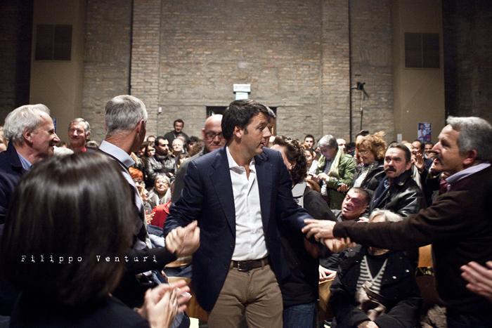 Matteo Renzi a Ravenna (Primarie PD), foto 8