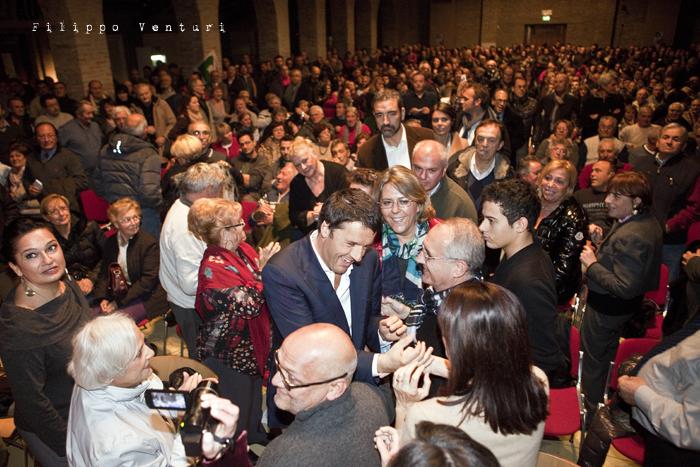 Matteo Renzi a Ravenna (Primarie PD), foto 9