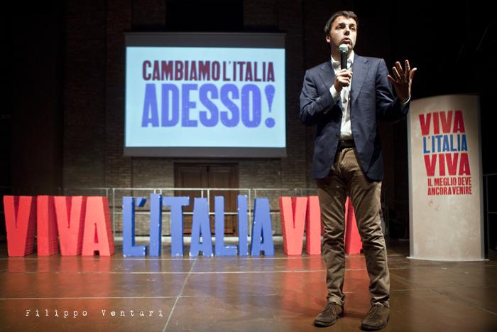 Matteo Renzi a Ravenna (Primarie PD), foto 12