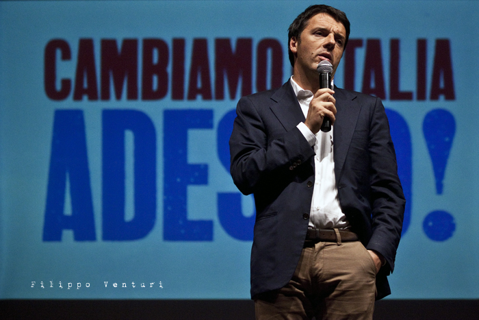 Matteo Renzi a Ravenna (Primarie PD), foto 15