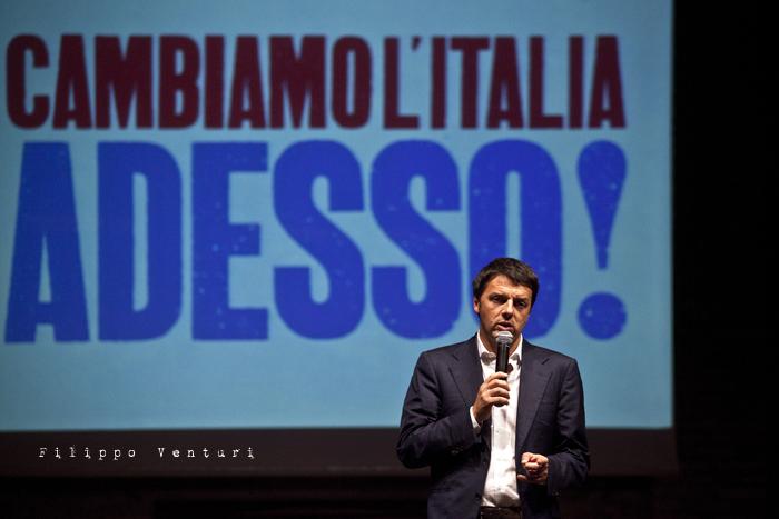 Matteo Renzi a Ravenna (Primarie PD), foto 16