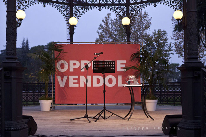 Nichi Vendola a Cesena, foto 1