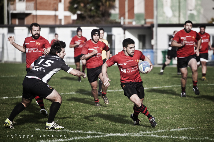 Romagna Rugby - Udine Rugby, foto 4